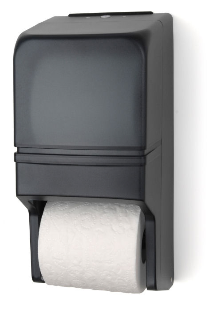 two-roll standard bath tissue dispenser
