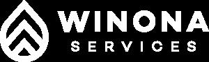 Winona Services logo reversed